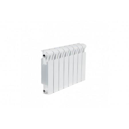 Биметаллический радиатор Rifar Monolit 300 (8 секций, боковое подключение)