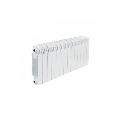 Биметаллический радиатор Rifar Monolit 350 (14 секций, боковое подключение)