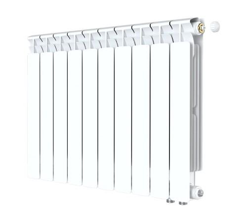 Биметаллический радиатор Rifar Alp Ventil 500 (10 секций, нижнее правое подключение)