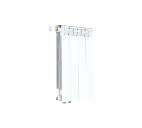 Биметаллический радиатор Rifar Alp Ventil 500 (4 секции, нижнее левое подключение)