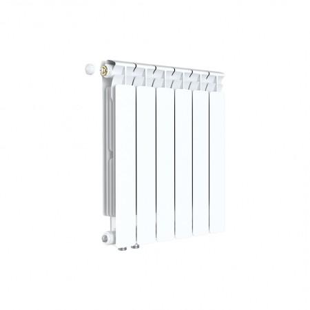 Биметаллический радиатор Rifar Alp Ventil 500 (5 секций, нижнее левое подключение)