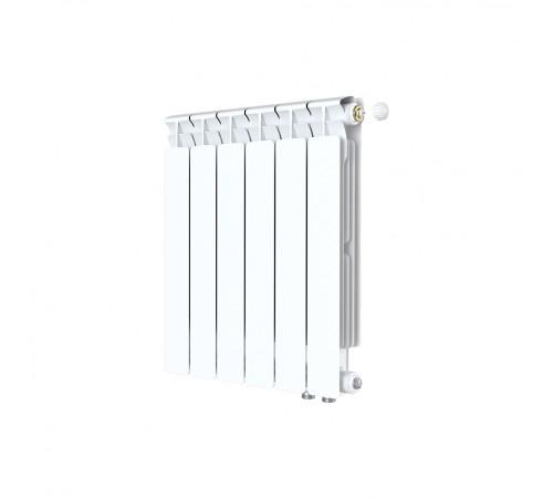 Биметаллический радиатор Rifar Alp Ventil 500 (6 секций, нижнее правое подключение)