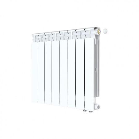 Биметаллический радиатор Rifar Alp Ventil 500 (8 секций, нижнее правое подключение)