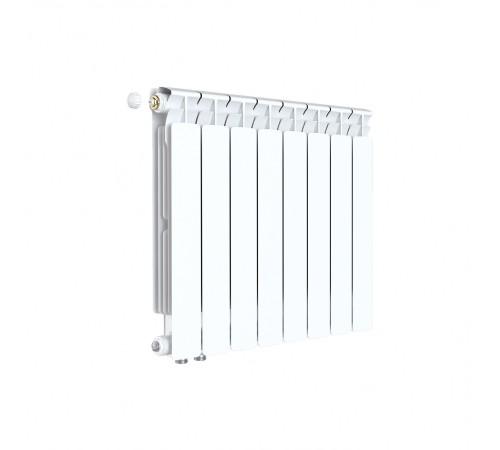 Биметаллический радиатор Rifar Alp Ventil 500 (8 секций, нижнее левое подключение)