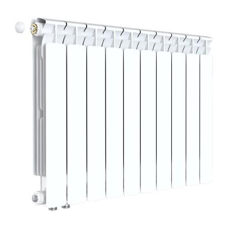 Биметаллический радиатор Rifar Alp Ventil 500 (9 секций, нижнее левое подключение)