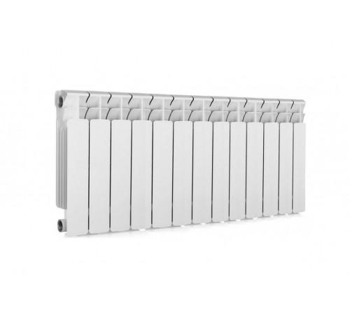 Биметаллический радиатор Rifar Base 350 (13 секций, боковое подключение)