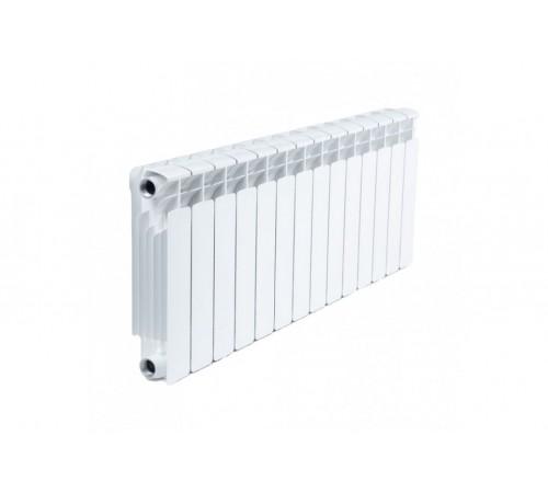 Биметаллический радиатор Rifar Base 350 (14 секций, боковое подключение)