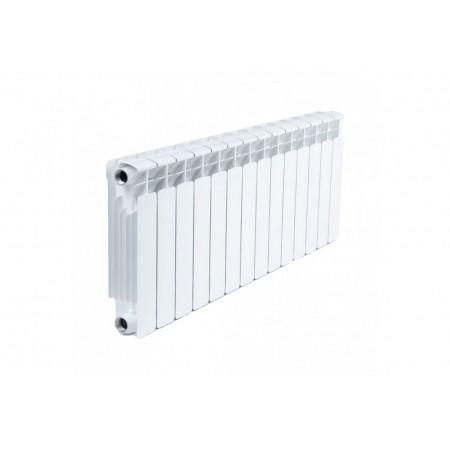 Биметаллический радиатор Rifar Base 200 (17 секций, боковое подключение)