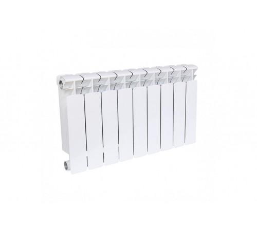 Биметаллический радиатор Rifar Base 200 (9 секций, боковое подключение)