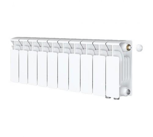 Биметаллический радиатор Rifar Base Ventil 350 (10 секций, нижнее правое подключение)