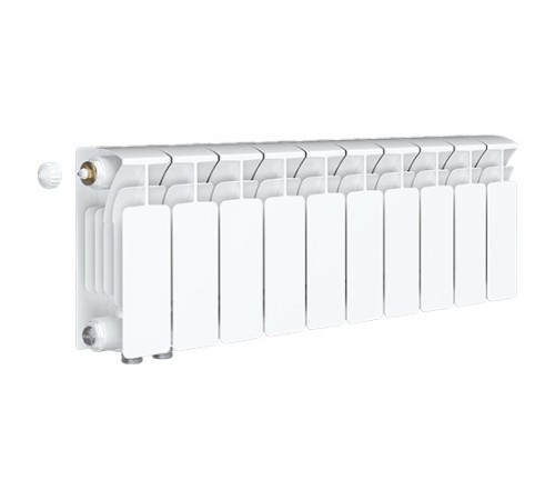 Биметаллический радиатор Rifar Base Ventil 350 (10 секций, нижнее левое подключение)
