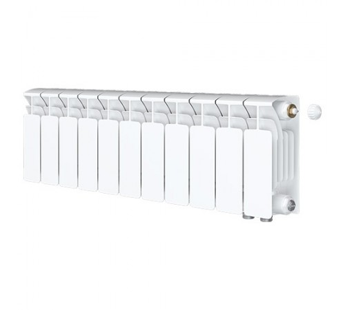 Биметаллический радиатор Rifar Base Ventil 350 (11 секций, нижнее правое подключение)