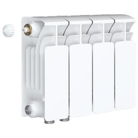 Биметаллический радиатор Rifar Base Ventil 350 (4 секции, нижнее левое подключение)