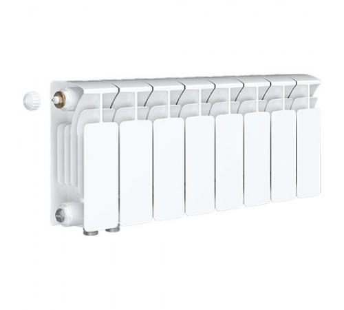 Биметаллический радиатор Rifar Base Ventil 350 (8 секций, нижнее левое подключение)
