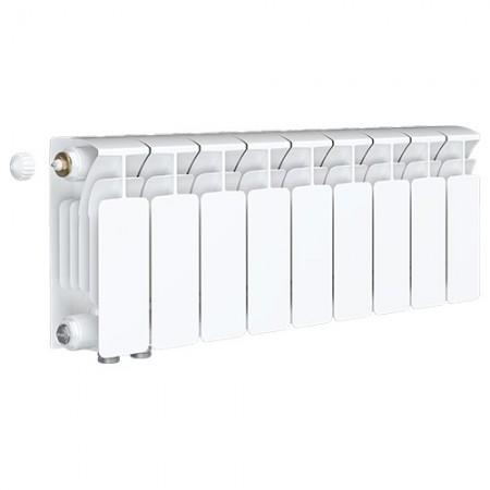 Биметаллический радиатор Rifar Base Ventil 350 (9 секций, нижнее левое подключение)