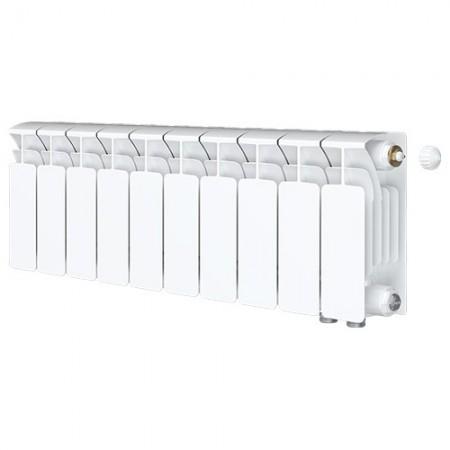 Биметаллический радиатор Rifar Base Ventil 500 (10 секций, нижнее правое подключение)