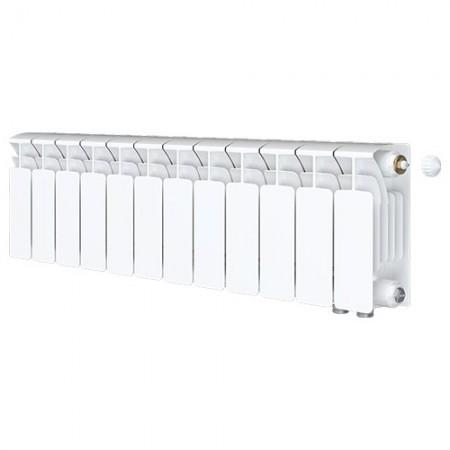 Биметаллический радиатор Rifar Base Ventil 500 (12 секций, нижнее правое подключение)