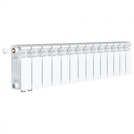 Биметаллический радиатор Rifar Base Ventil 500 (14 секций, нижнее левое подключение)