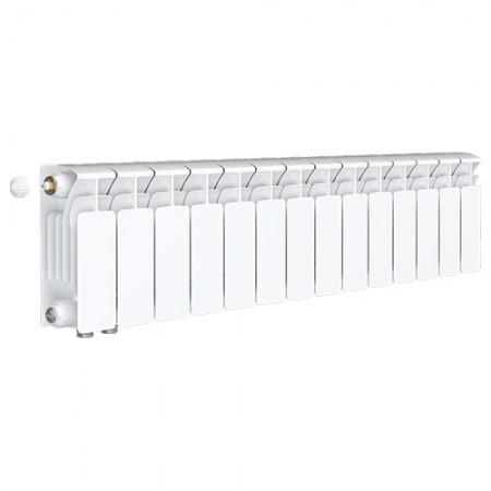 Биметаллический радиатор Rifar Base Ventil 500 (15 секций, нижнее левое подключение)