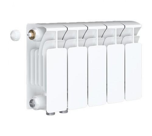 Биметаллический радиатор Rifar Base Ventil 500 (5 секций, нижнее левое подключение)