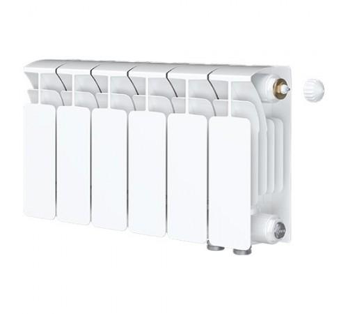 Биметаллический радиатор Rifar Base Ventil 500 (6 секций, нижнее правое подключение)