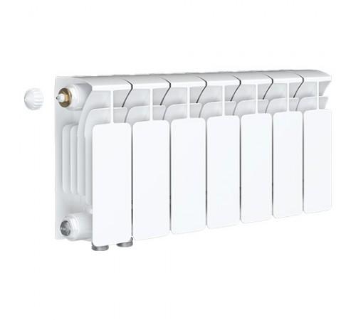 Биметаллический радиатор Rifar Base Ventil 500 (7 секций, нижнее левое подключение)