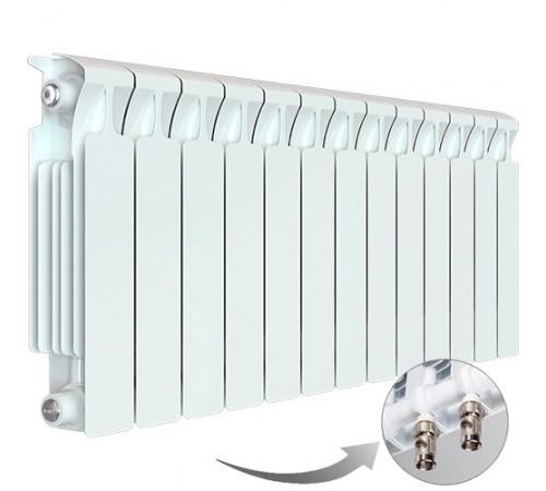 Биметаллический радиатор Rifar Monolit Ventil 350 (13 секций, нижнее левое подключение)