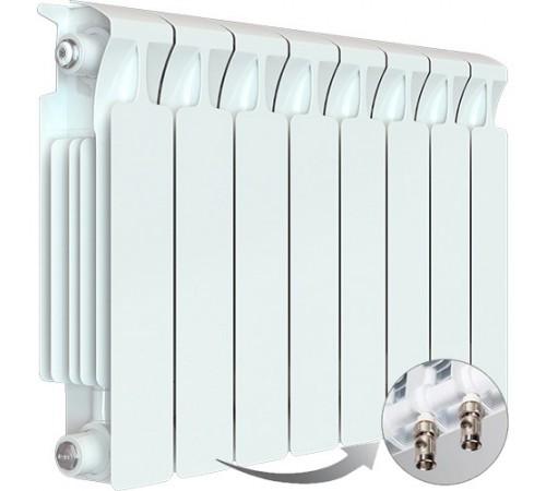 Биметаллический радиатор Rifar Monolit Ventil 350 (8 секций, нижнее левое подключение)