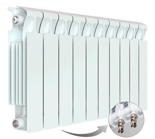Биметаллический радиатор Rifar Monolit Ventil 500 (10 секций, нижнее правое подключение)