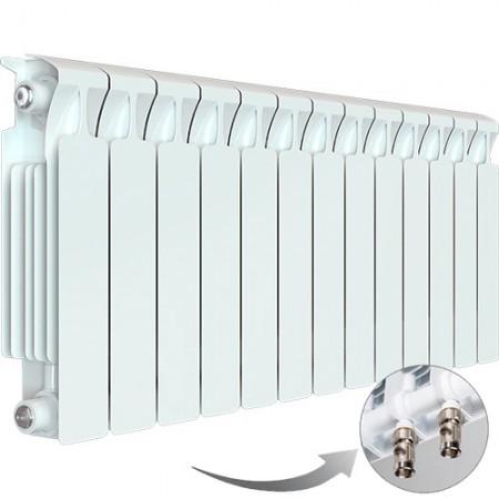 Биметаллический радиатор Rifar Monolit Ventil 500 (13 секций, нижнее левое подключение)