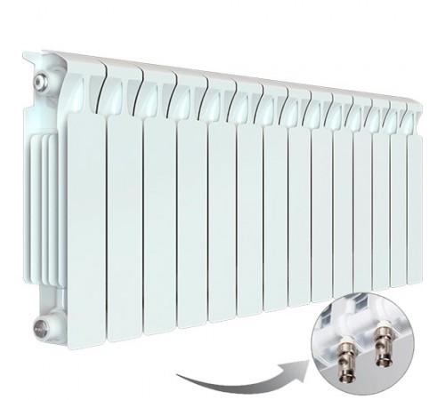 Биметаллический радиатор Rifar Monolit Ventil 500 (14 секций, нижнее правое подключение)