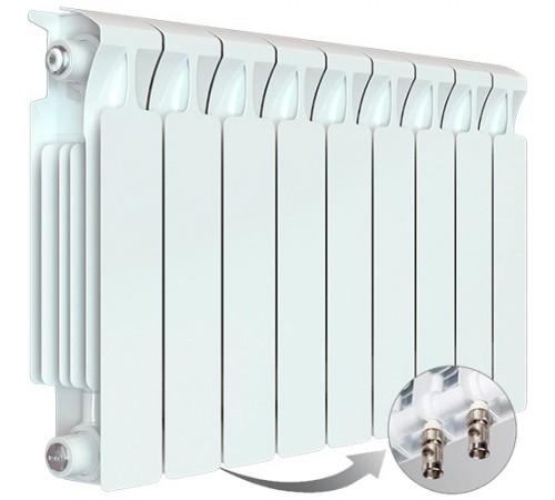 Биметаллический радиатор Rifar Monolit Ventil 500 (9 секций, нижнее правое подключение)