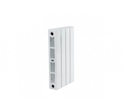 Биметаллический радиатор Rifar SUPReMO 350 (4 секции, боковое подключение)