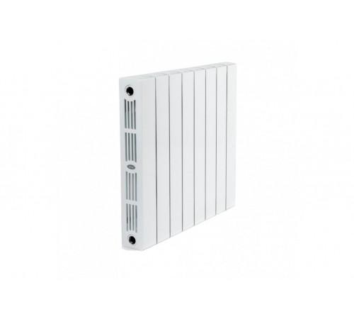 Биметаллический радиатор Rifar SUPReMO 800 (8 секций, боковое подключение)