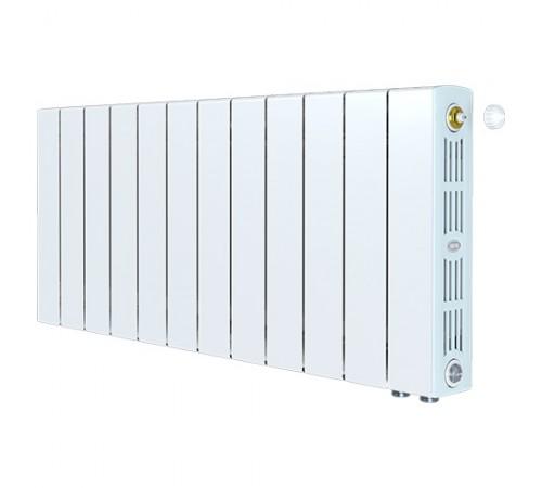 Биметаллический радиатор Rifar SUPReMO 350 Ventil (11 секций, нижнее правое подключение)