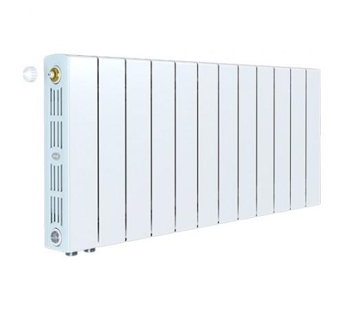 Биметаллический радиатор Rifar SUPReMO 350 Ventil (11 секций, нижнее левое подключение)