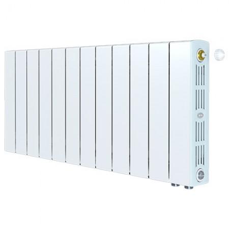 Биметаллический радиатор Rifar SUPReMO 350 Ventil (12 секций, нижнее правое подключение)