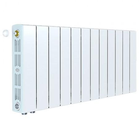 Биметаллический радиатор Rifar SUPReMO 350 Ventil (12 секций, нижнее левое подключение)