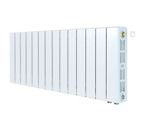 Биметаллический радиатор Rifar SUPReMO 350 Ventil (13 секций, нижнее правое подключение)
