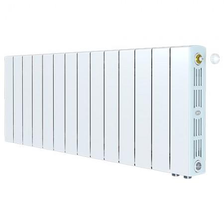 Биметаллический радиатор Rifar SUPReMO 350 Ventil  (14 секций, нижнее правое подключение)