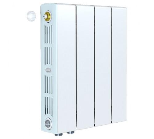 Биметаллический радиатор Rifar SUPReMO 350 Ventil (4 секции, нижнее левое подключение)