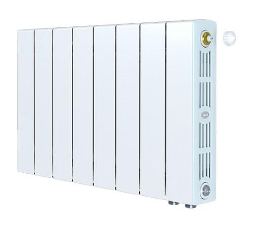 Биметаллический радиатор Rifar SUPReMO 350 Ventil (7 секций, нижнее правое подключение)