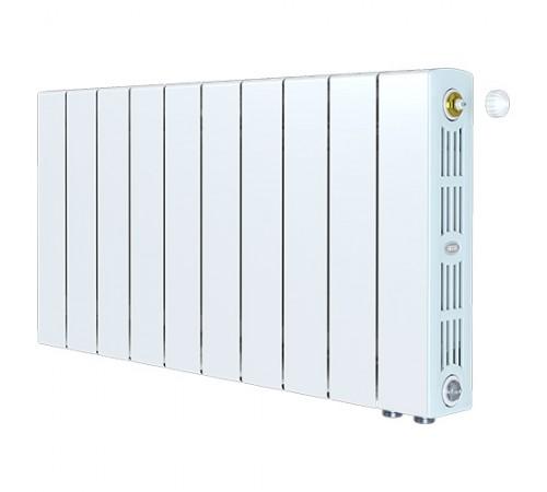 Биметаллический радиатор Rifar SUPReMO 350 Ventil (9 секций, нижнее правое подключение)