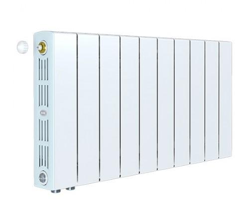 Биметаллический радиатор Rifar SUPReMO 350 Ventil (9 секций, нижнее левое подключение)
