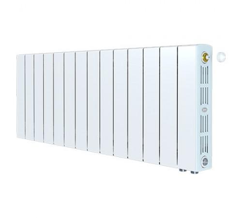 Биметаллический радиатор Rifar SUPReMO 500 Ventil (13 секций, нижнее правое подключение)