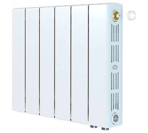 Биметаллический радиатор Rifar SUPReMO 500 Ventil (5 секций, нижнее правое подключение)