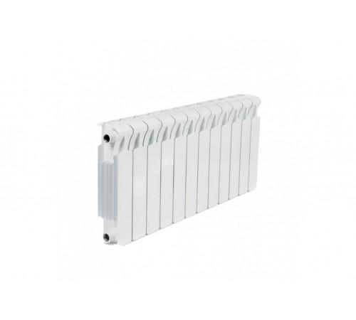 Биметаллический радиатор Rifar Monolit 300 (12 секций, боковое подключение)