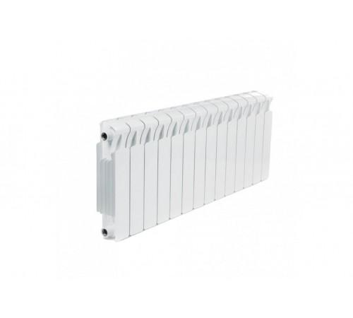 Биметаллический радиатор Rifar Monolit 300 (14 секций, боковое подключение)