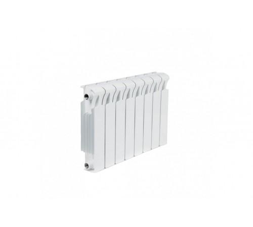 Биметаллический радиатор Rifar Monolit 500 (8 секций, боковое подключение)