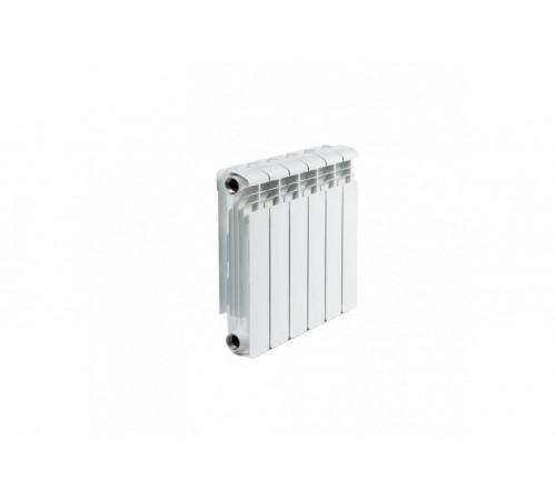 Биметаллический радиатор Rifar Alp 500 (6 секций, боковое подключение)